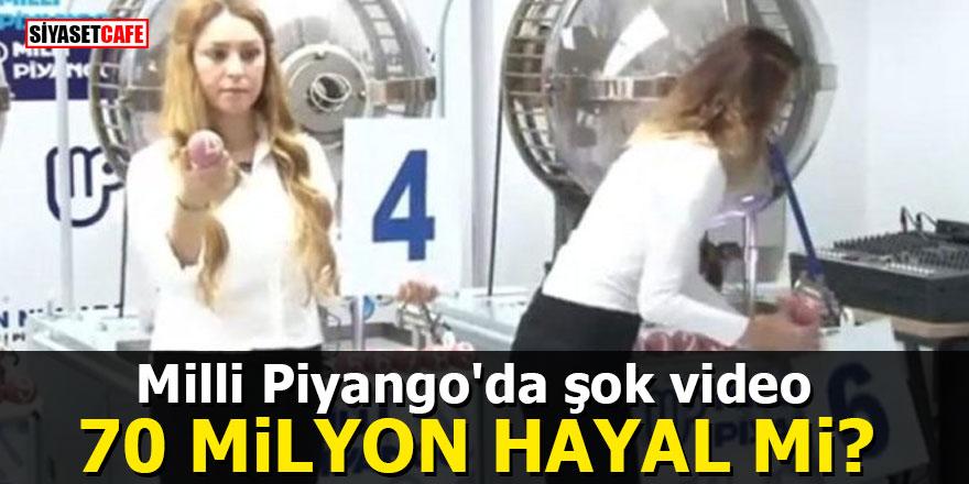 Milli Piyango'da şok video: 70 Milyon hayal mi?