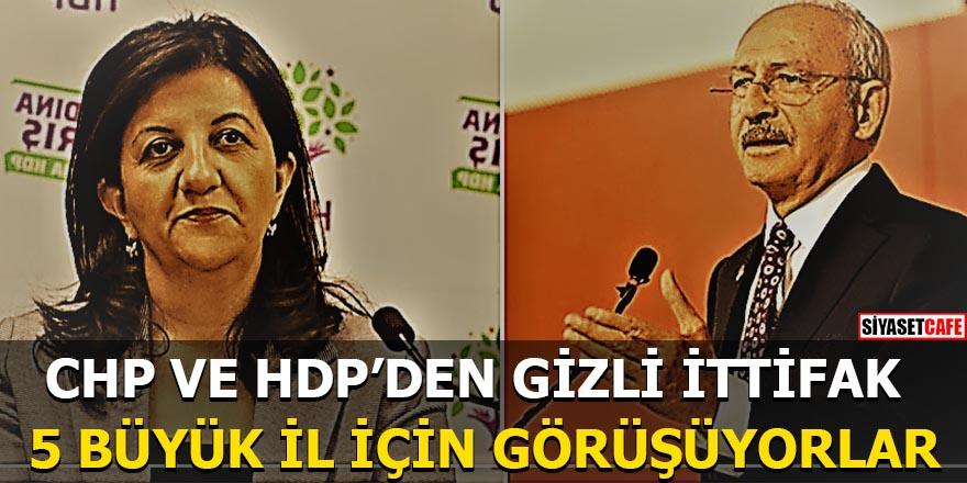 CHP ve HDP'den gizli ittifak