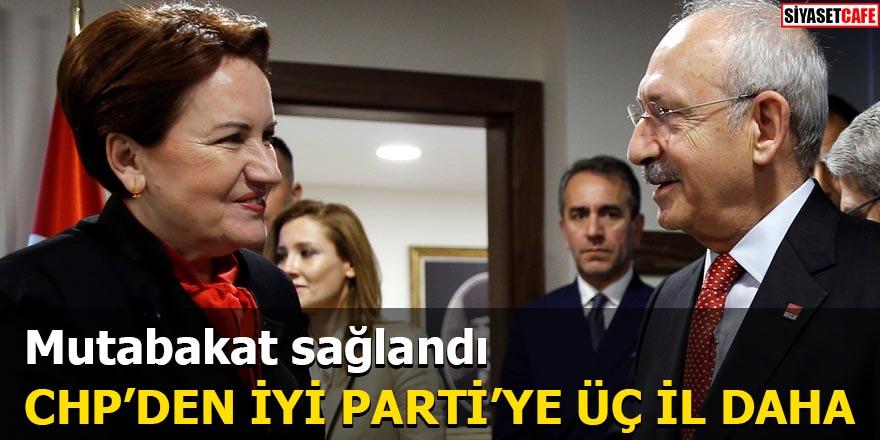 CHP'den İYİ Parti'ye üç il daha