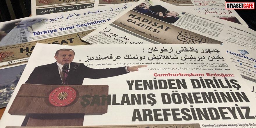 Osmanlıca gazeteye insanlar özlem duyuyormuş