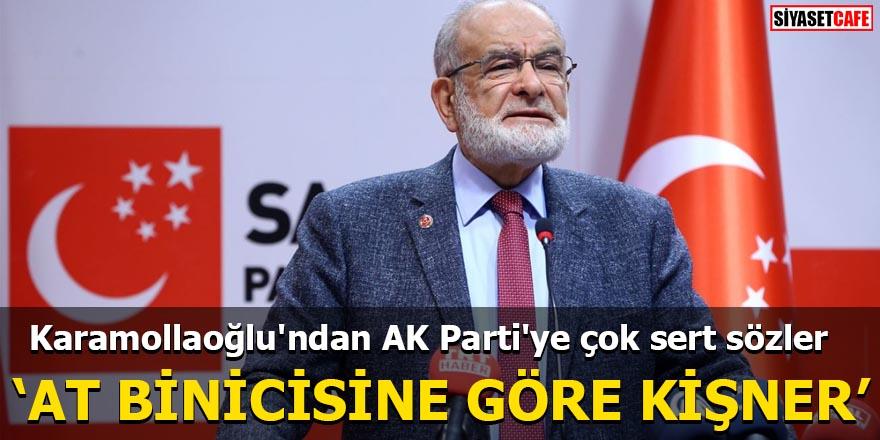 Karamollaoğlu'ndan AK Parti'ye çok sert sözler