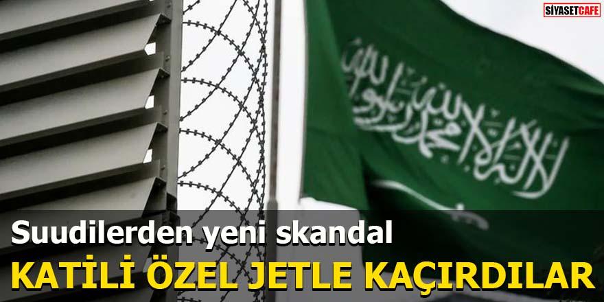 Suudilerden yeni skandal Katili özel jetle kaçırdılar