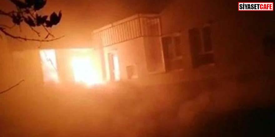 Belediye Başkanı Cemal Avcı'nın evi alev alev yandı