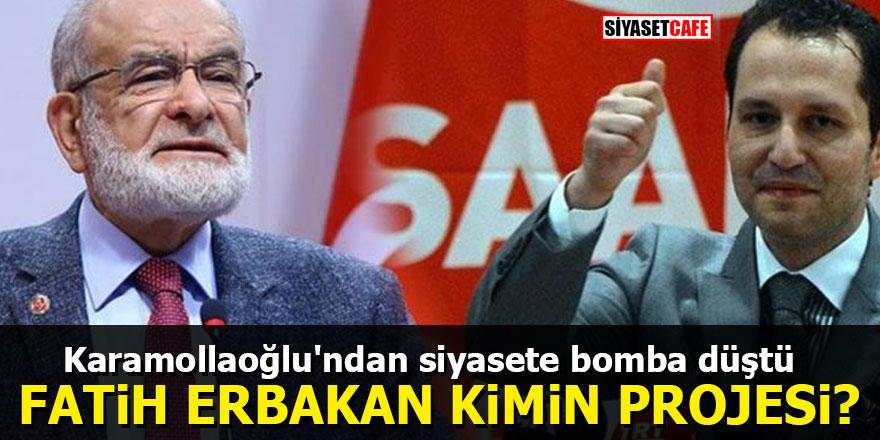 Karamollaoğlu'ndan siyasete bomba düştü: Fatih Erbakan kimin projesi?