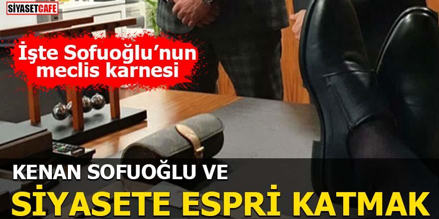 Kenan Sofuoğlu ve Siyasete espri katmak