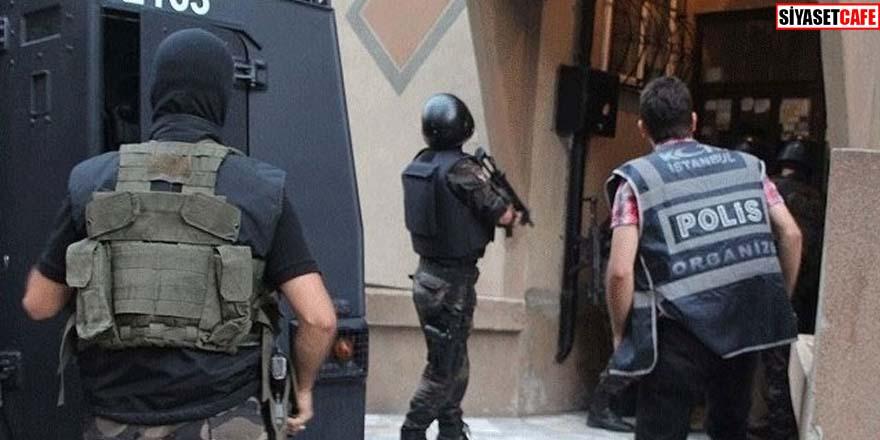Polis İstanbul'da 2 bin 617 evi bir gecede bastı