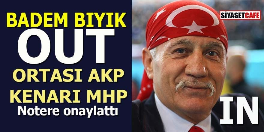 Badem bıyık OUT: Ortası AKP, kenarı MHP