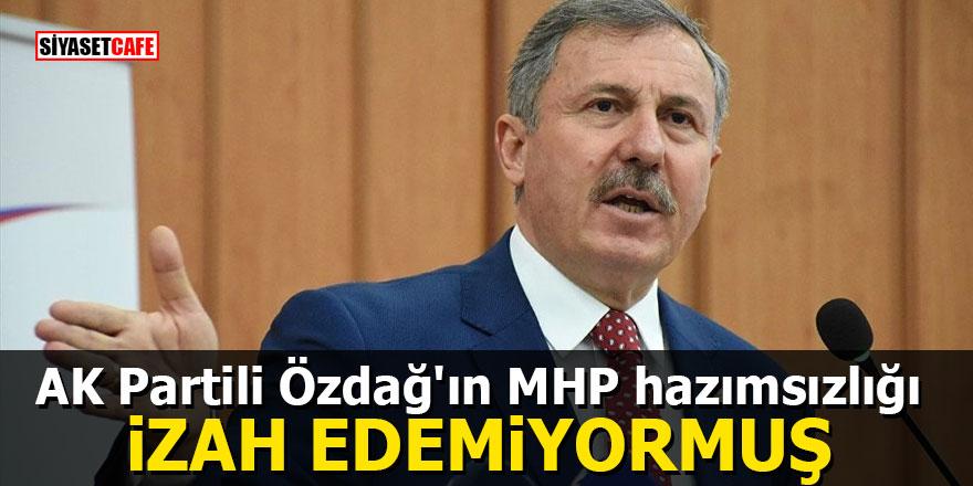 AK Partili Özdağ'ın MHP hazımsızlığı: İzah edemiyormuş