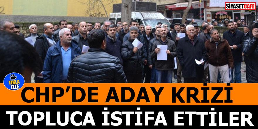 CHP'de aday krizi! Topluca istifa ettiler