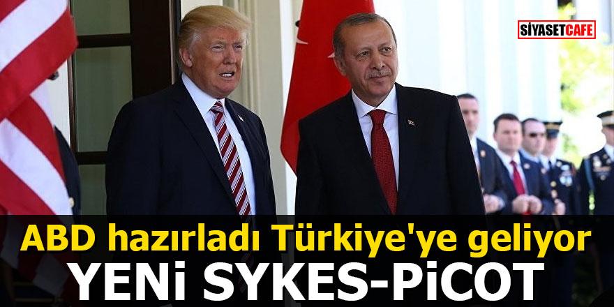 ABD hazırladı Türkiye'ye geliyor: Yeni Sykes-Picot