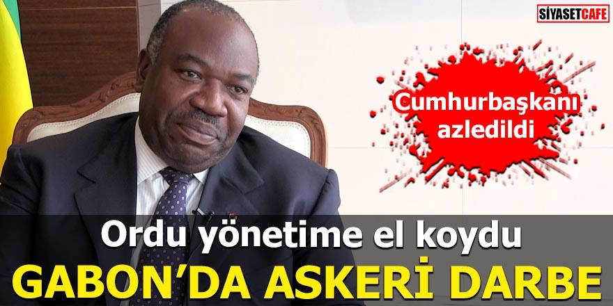 Ordu yönetime el koydu Gabon'da askeri darbe