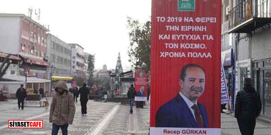 Başkan Gürkan'dan flaş afiş açıklaması