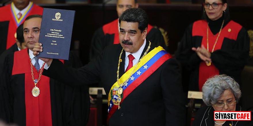 Maduro yemin etti ikinci dönem başladı