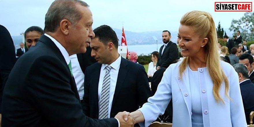 Erdoğan'dan Müge Anlı'ya teşekkür