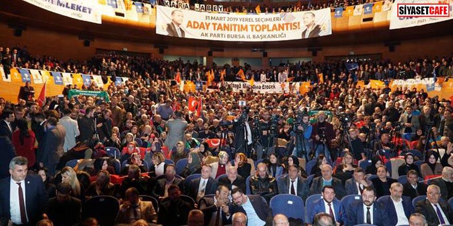 AK Parti Bursa'da MHP'ye O ilçeyi bıraktı