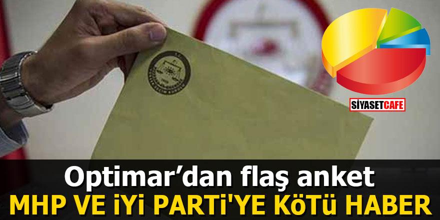 Optimar'dan flaş anket: MHP ve İYİ Parti'ye kötü haber