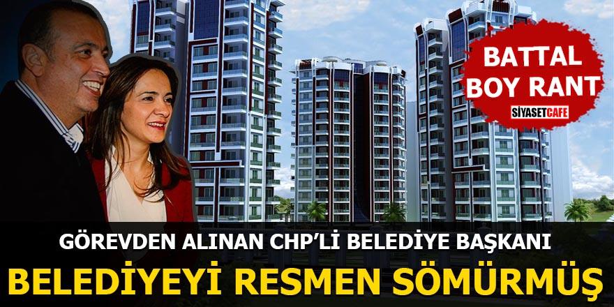 Görevden alınan CHP'li belediye başkanı belediyeyi resmen sömürmüş