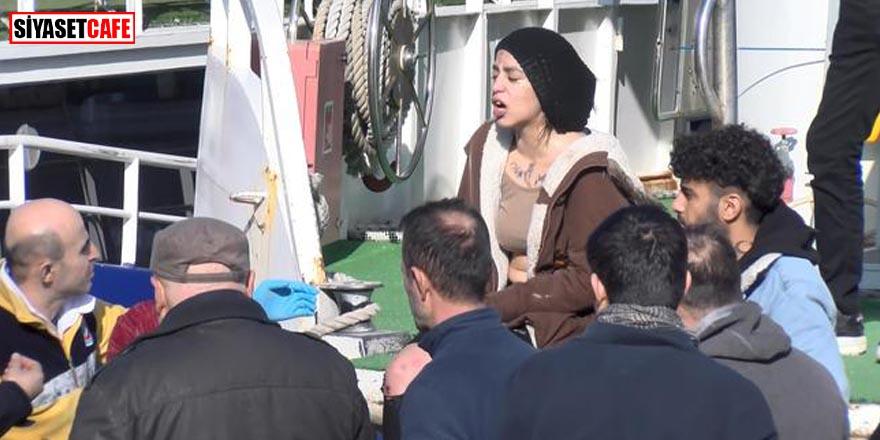 Suriyeli kadın kendini kurtarana 'Hırsız' dedi