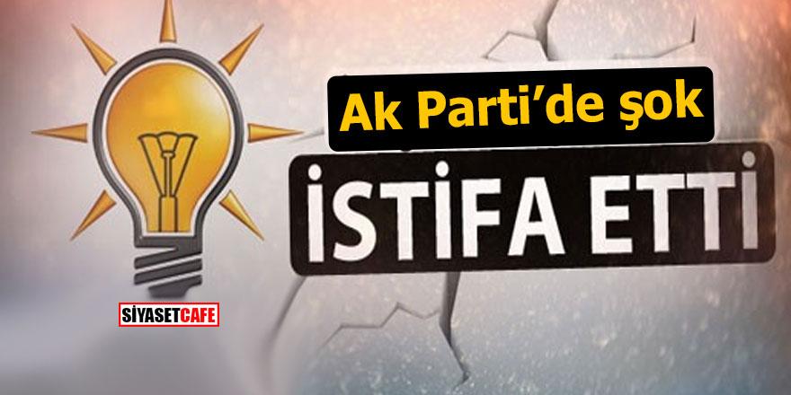 Ak Parti'nin kalesinde şok istifa: CHP'ye geçti