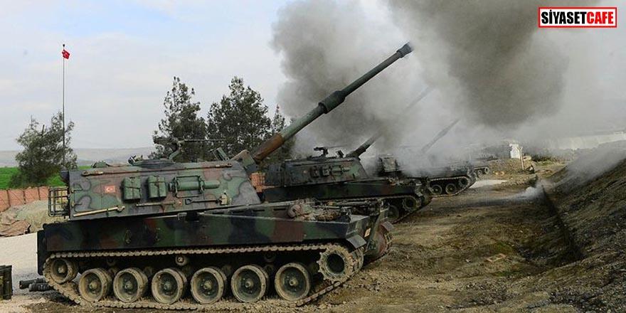 TSK Suriye'deki teröristleri vurdu