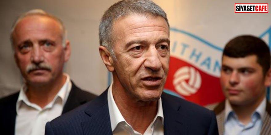 Trabzonspor Başkanı hastaneye kaldırıldı