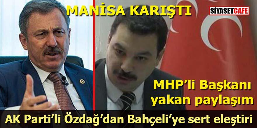 MHP'li Başkan'ı yakan paylaşım: AK Partili Özdağ Bahçeli'yi eleştirdi