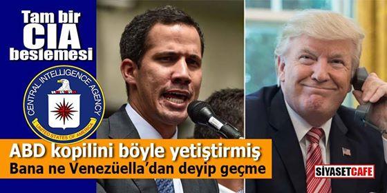Mesele sadece Venezuela değil ABD kopilini böyle yetiştirmiş