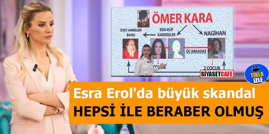 Esra Erol'da büyük skandal Hepsi ile beraber olmuş