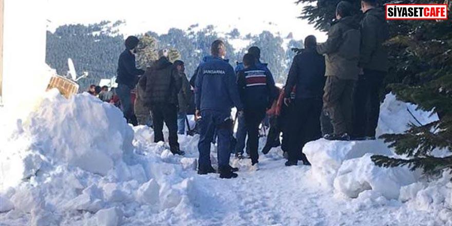 Uludağ'da şok! 6 kişi karın altında kaldı