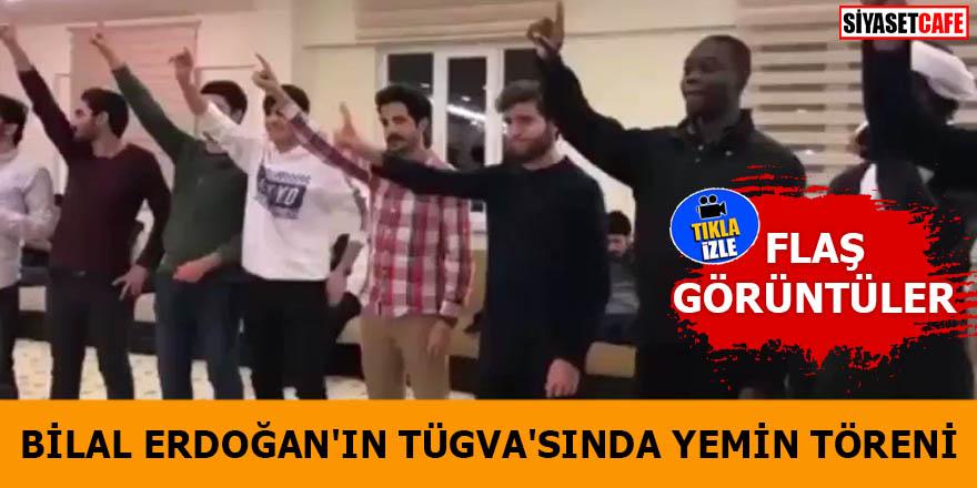 Bilal Erdoğan'ın TÜGVA'sında yemin töreni