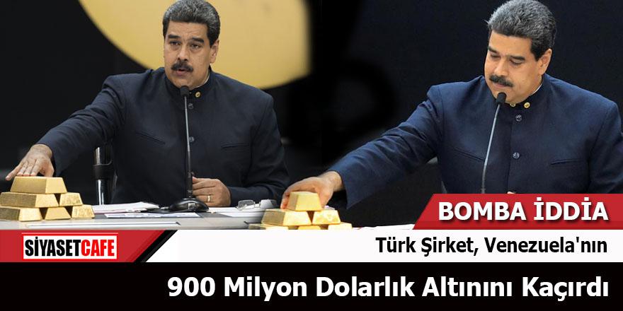 Türk Şirket, Venezuela'nın 900 Milyon Dolarlık altınını kaçırdı