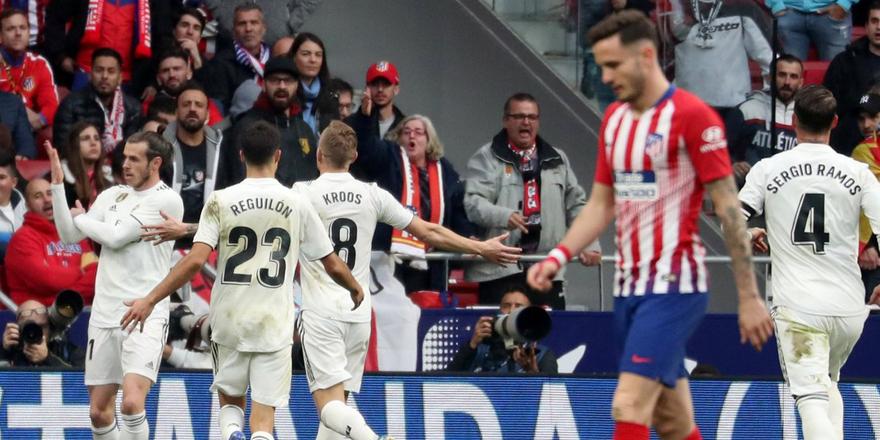 Madrid derbisinin kazananı belli oldu