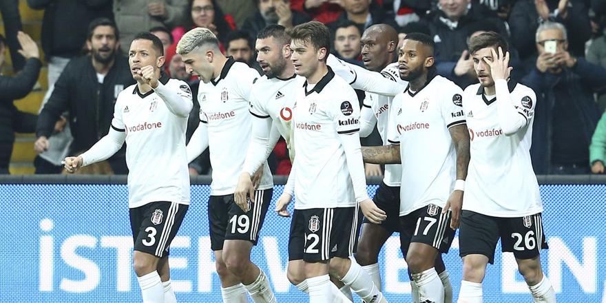 Beşiktaş, Burak Yılmaz'la 3 puanı kaptı