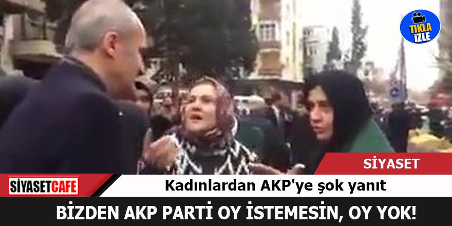 AKP'li Başkan'a kadınlardan şok cevap