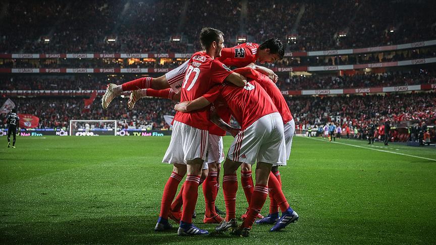 Galatasaray'ın rakibi Benfica'dan 10 gollü galibiyet