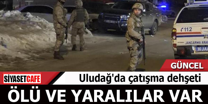 Uludağ'da çatışma dehşeti Ölü ve yaralılar var