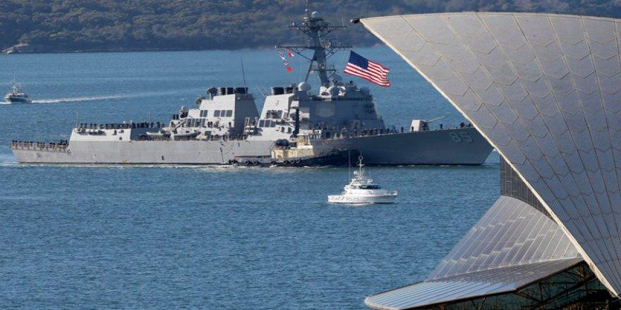 ABD'nin savaş gemisine Çin'den cevap: Öfkeyle karşılıyoruz