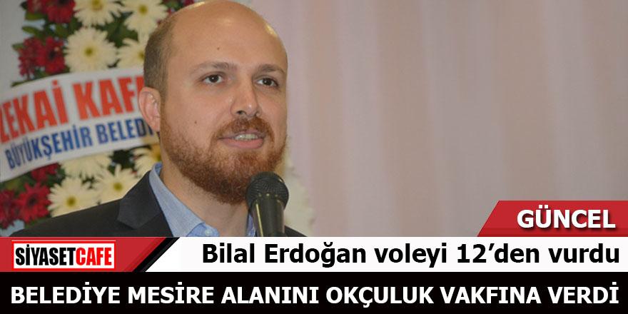 Bilal Erdoğan voleyi 12'den vurdu