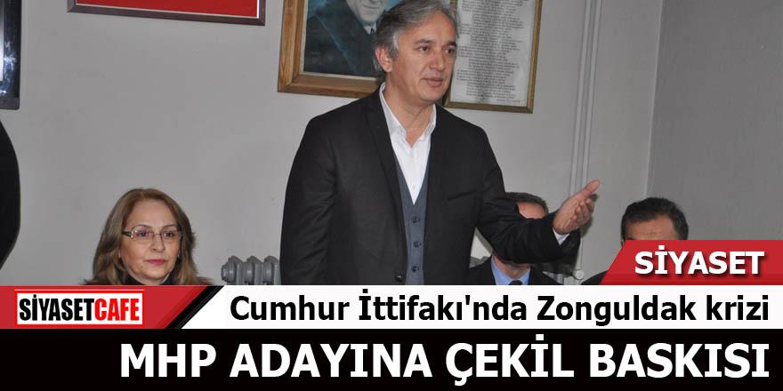 Cumhur İttifakı'nda Zonguldak krizi