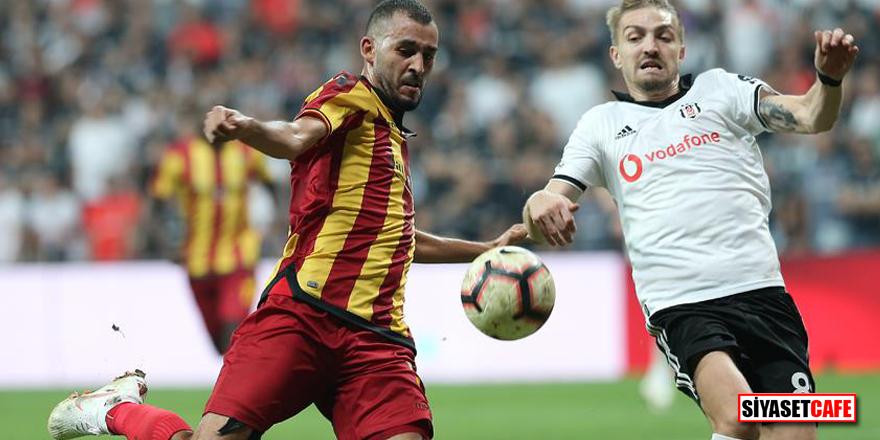 Bir kırmızı kart, 3 gol! Yeni Malatyaspor – Beşiktaş | CANLI