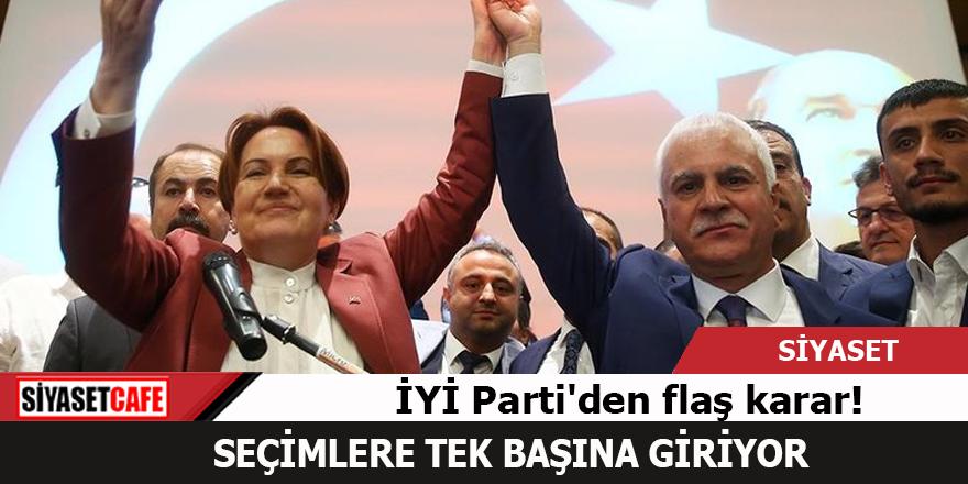 İYİ Parti İl Genel Meclisi seçimlerine bağımsız girecek