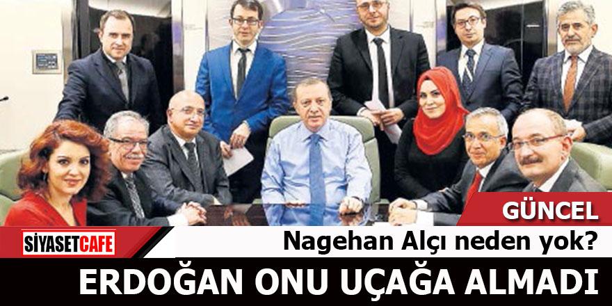 Nagehan Alçı Erdoğan'ın uçağında neden yok?