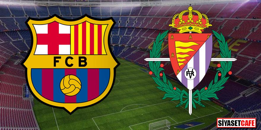 Barcelona – Real Valladolid maçı hangi kanalda şifresiz?