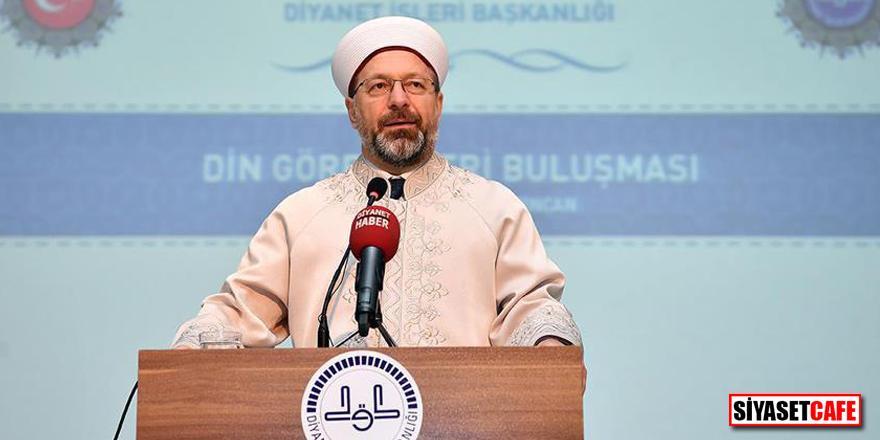 Diyanet İşleri Başkanı Ali Erbaş sigaranın haram olduğunu açıkladı