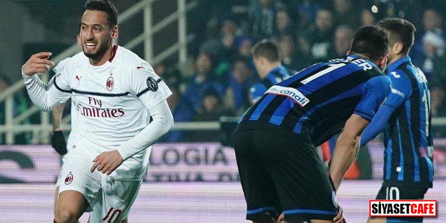 Hakan Çalhanoğlu şeytanın bacağını kırdı! 1 gol, 1 asist...