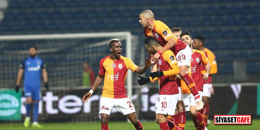 Feghouli şov yaptı, Galatasaray farklı kazandı