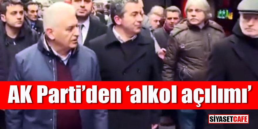 """AK Parti'den """"alkol açılımı"""""""