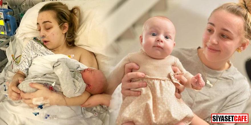 Komaya giren genç kız uyandığında anne oldu