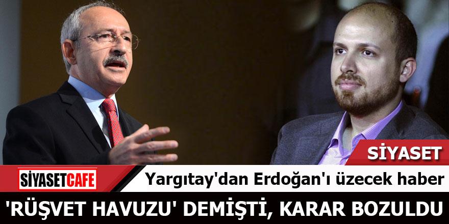 Yargıtay'dan Erdoğan'ı üzecek haber