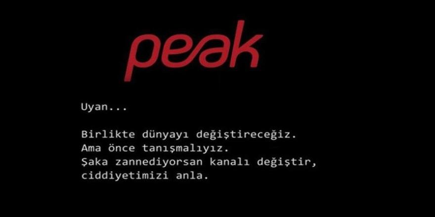 Peak'i hacklendik zannettik meğerse neymiş